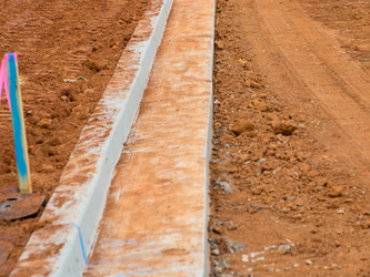 New-concrete-curb-in-residential