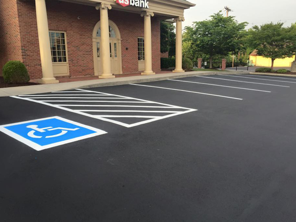 Parking Lot Markings
